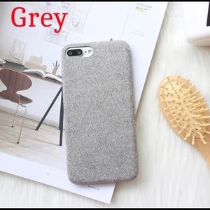 Other - iPhone X Case - Ultra-thin cloth plush